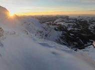 Primo piano su Glacier 3000 e l'Alpine Coaster