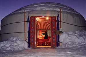alloggi sotto la neve