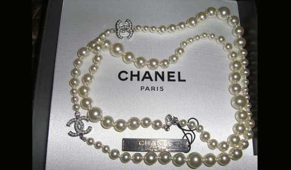 collana perle Chanel