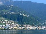 In giro per Montreux, città elegante dall'anima rock