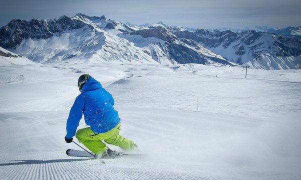 Sciare Alpi Cantone Vaud - Svizzera