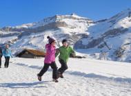 Le gioie dell'inverno in Svizzera nel Cantone di Vaud