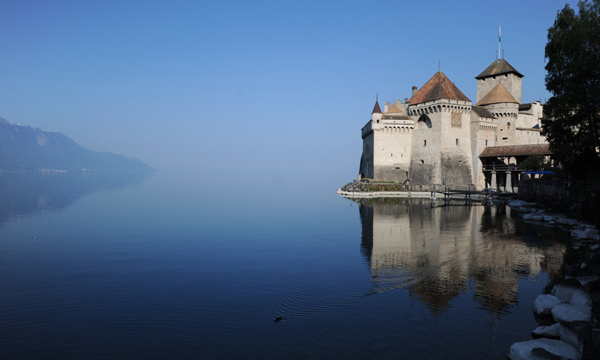 Castello Chillon Svizzera