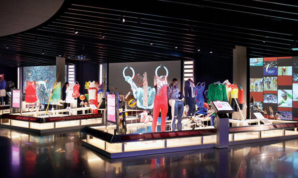 Museo Olimpico Losanna Svizzera