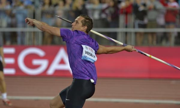 Athletissima lancio del giavellotto