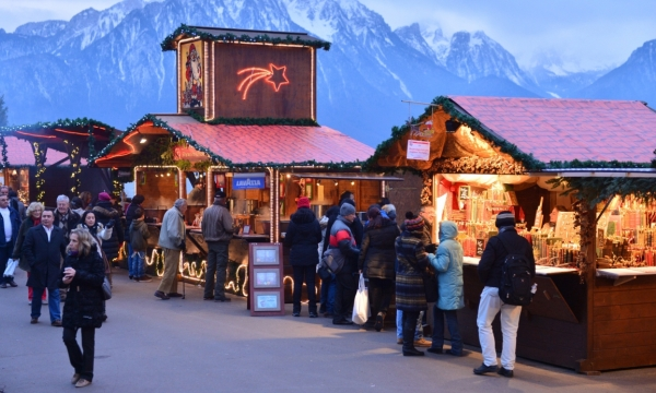 Bancarelle Mercatini di Natale Montreux