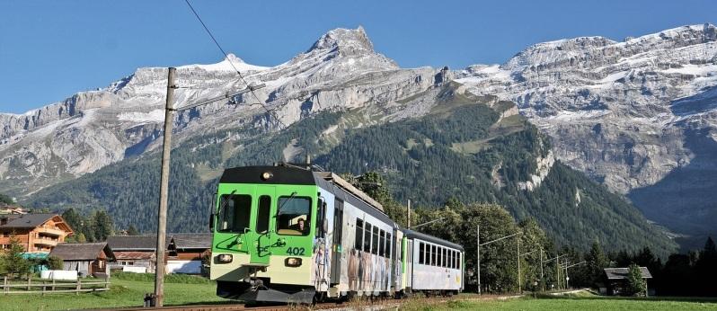 Tour Alpi Svizzere in treno
