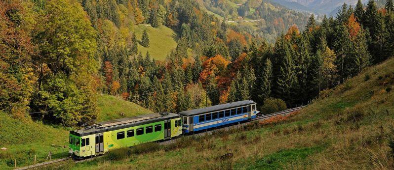 Tour delle Alpi svizzere in treno