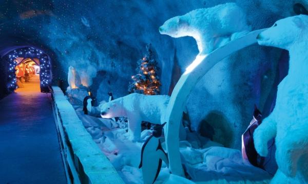Villaggio di Babbo Natale Montreux Noel