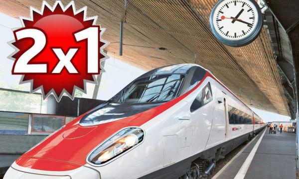 Tariffa speciale 2x1 treno