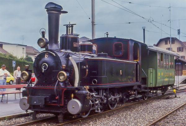 locomotiva - museo ferroviario Blonay-Chamby