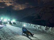 Sci notturno e attività sulla neve by night