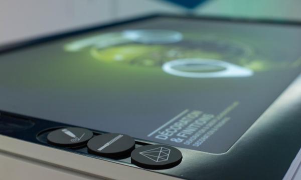 Espace Horloger touchscreen