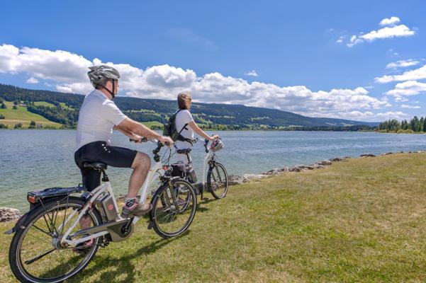 e-bike Lago di Joux