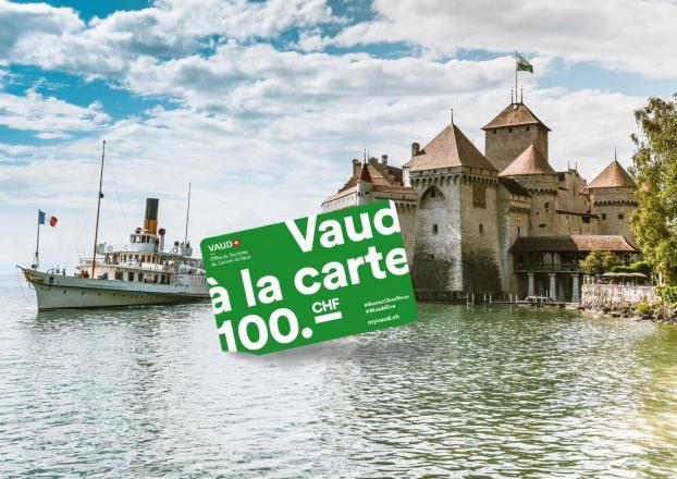 Vaud à la carte 100 CHF